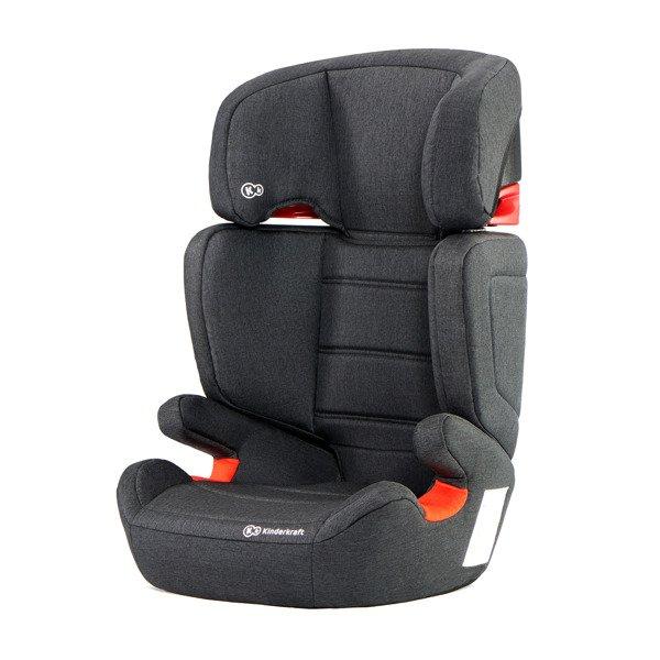 Kinderkraft Junior Fix Black Bērnu autosēdeklis 15-36 kg