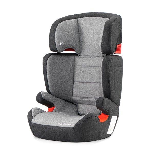 Kinderkraft Junior Fix Black/Gray Bērnu autosēdeklis 15-36 kg