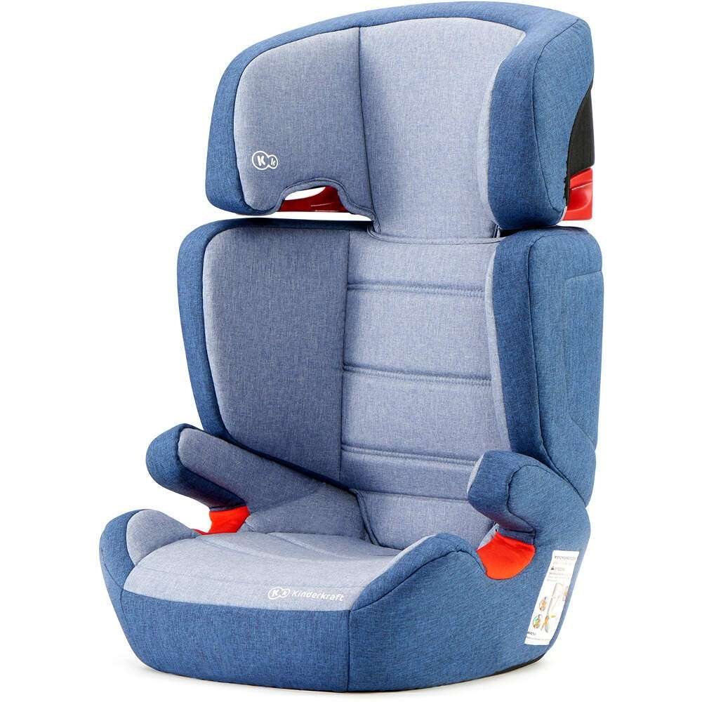 KinderKraft Junior Fix Navy Bērnu autokrēsls 15-36 kg