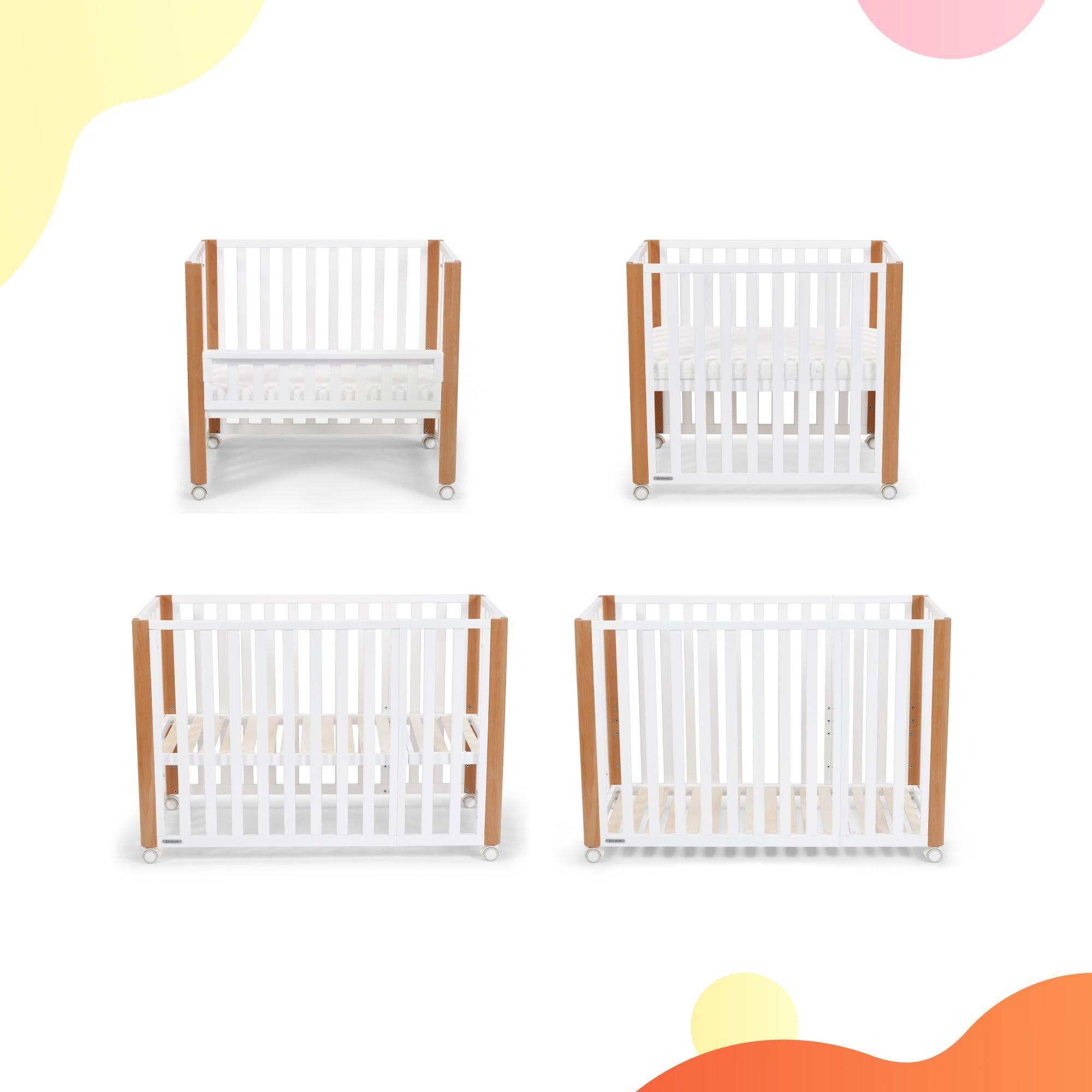 Kinderkraft Koya Bērnu gulta-tranformeris 4in1