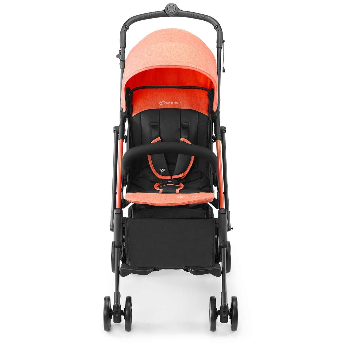KinderKraft Mini Dot Coral Sporta pastaigu rati
