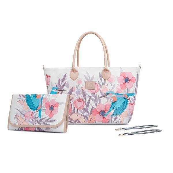 Kinderkraft Mommy Bag Bird Freedom ratu soma