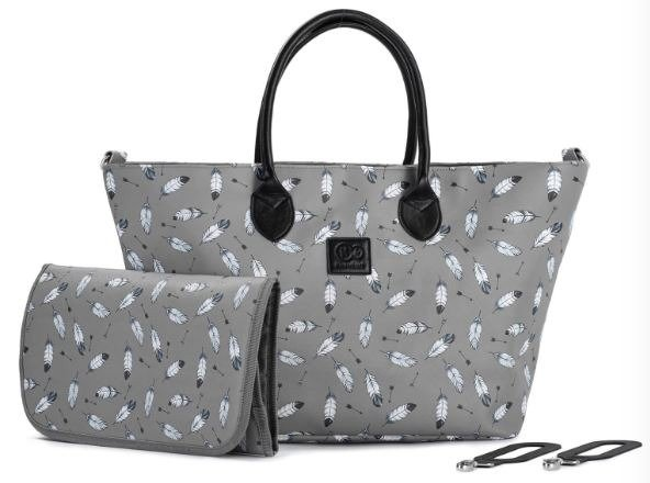 Kinderkraft Mommy Bag Grey ratu soma
