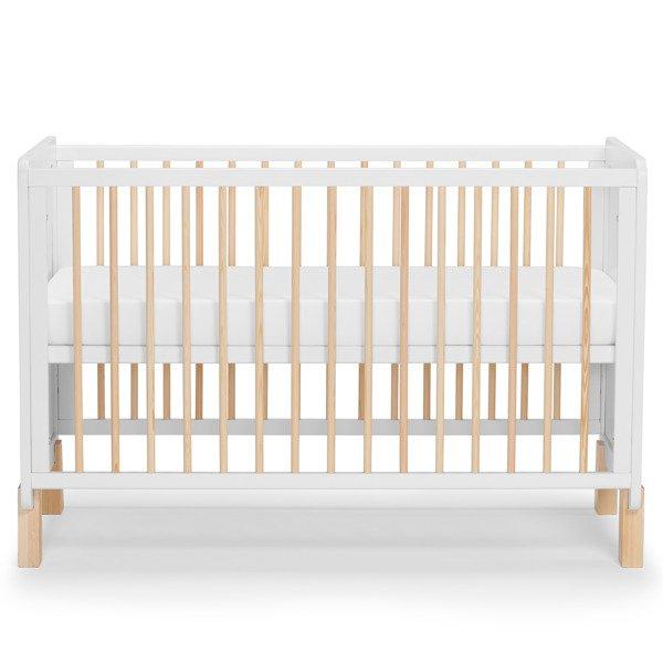 Kinderkraft Nico 2in1 White Bērnu gulta + Barjera + Matracis