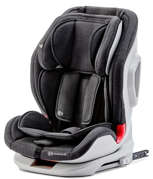 Kinderkraft Oneto 3 Black Bērnu autosēdeklis 9-36 kg
