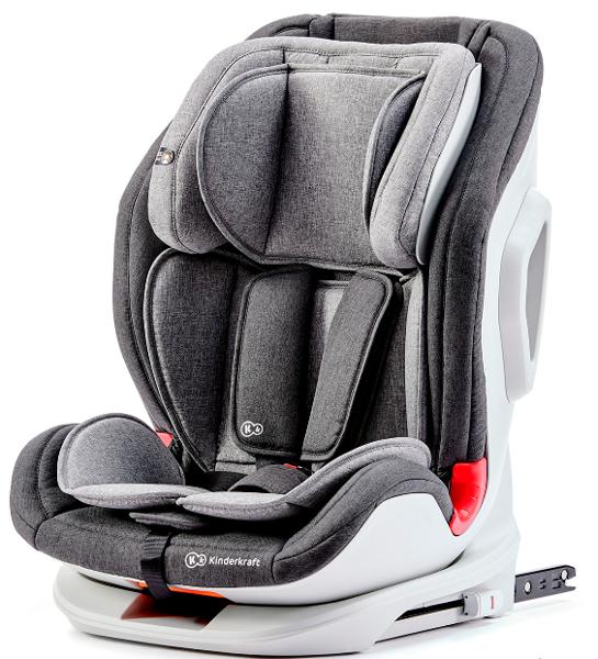 Kinderkraft Oneto 3 Black/Grey Bērnu autosēdeklis 9-36 kg
