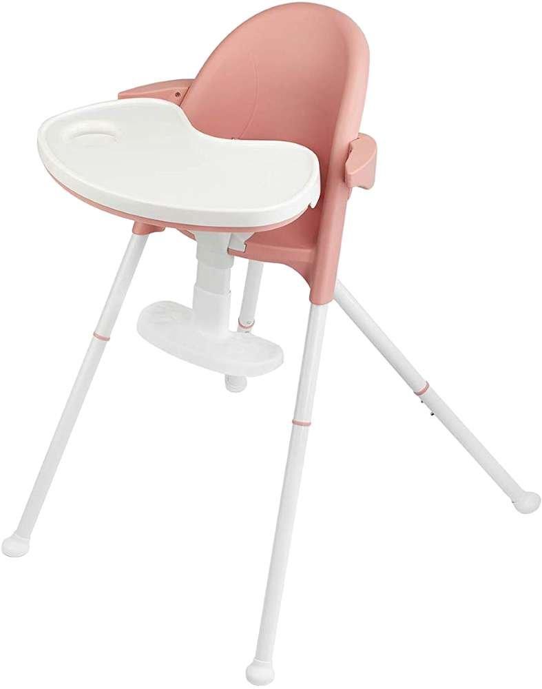 KinderKraft Pini Pink 2 in 1 Barošanas krēsls