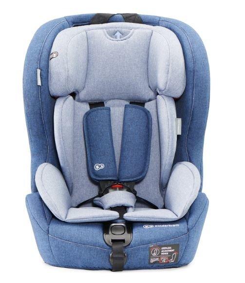 Kinderkraft Safety-Fix Navy Bērnu autosēdeklis 9-36 kg