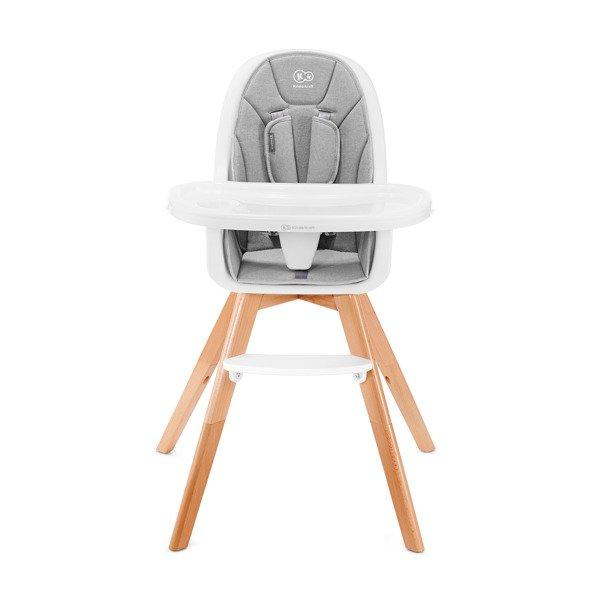 Kinderkraft Tixi Grey 2in1 Barošanas krēsliņš