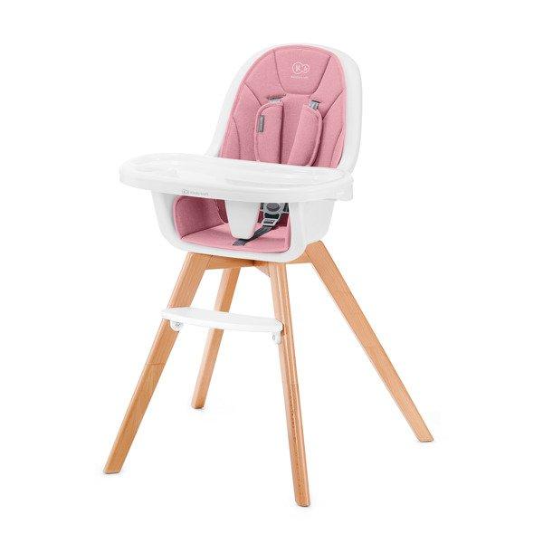 Kinderkraft Tixi Pink 2in1 Barošanas krēsliņš