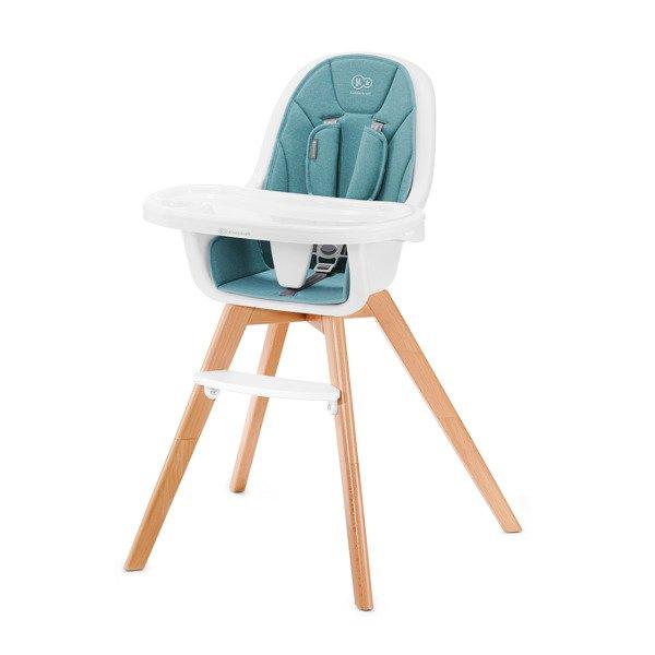 Kinderkraft Tixi Turquoise 2in1 Barošanas krēsliņš