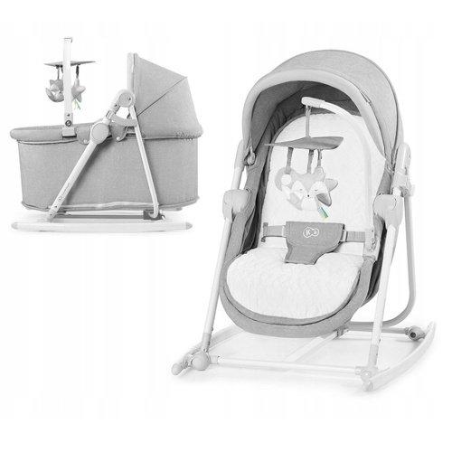 Kinderkraft Unimo 5in1 2020 Grey Šūpuļkrēsls-gultiņa