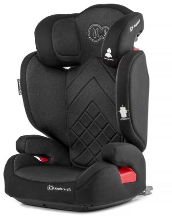 Kinderkraft XPand Black Bērnu autosēdeklis 15-36 kg