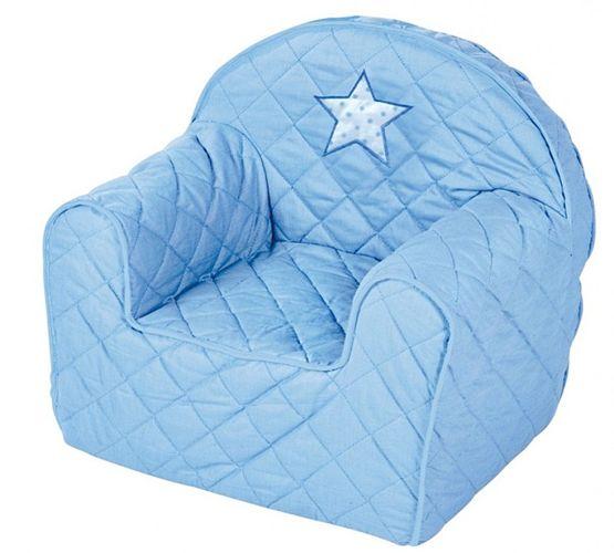 KLUPS Albero Mio Blue Bērnu krēsliņš-spilvens