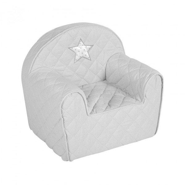 KLUPS Albero Mio Popiel Bērnu krēsliņš-spilvens