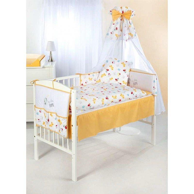 Klups Baby Bērnu gultas veļas komplekts no 6 daļām