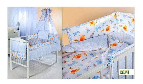 Klups Kokvilnas gultas veļas komplekts no 3 daļām