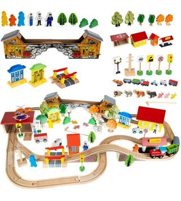 Koka dzelzceļš 89 elementi 11222