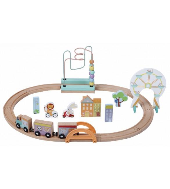 Koka dzelzceļš SunBaby E01.063.1.1