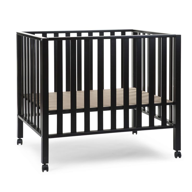 Koka manēža 75x95 сm CHILDHOME Playpen Beech black 94 + wheels