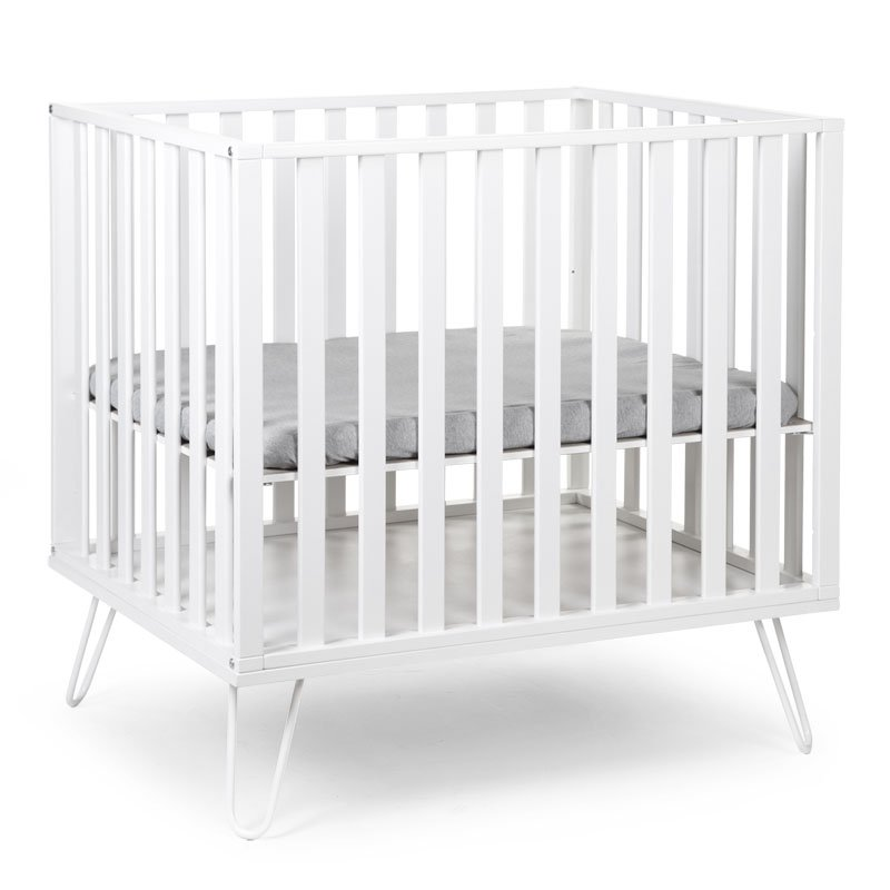 Koka manēža CHILDHOME Playpen Beech white 98 + Metal Feet