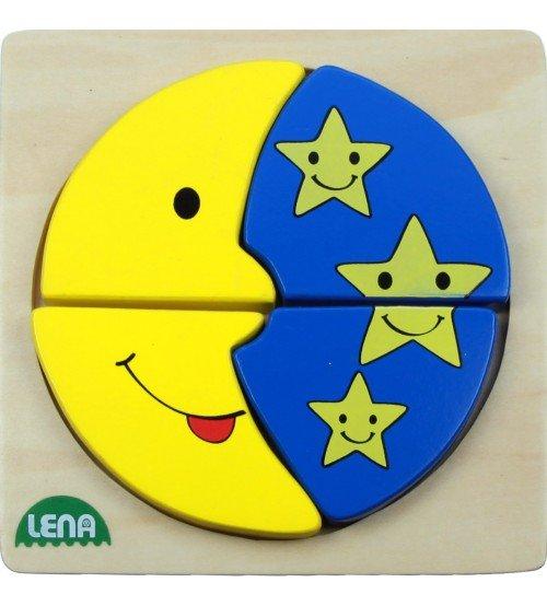 Koka puzzle Meness Zvaigznes Lena L32130-2