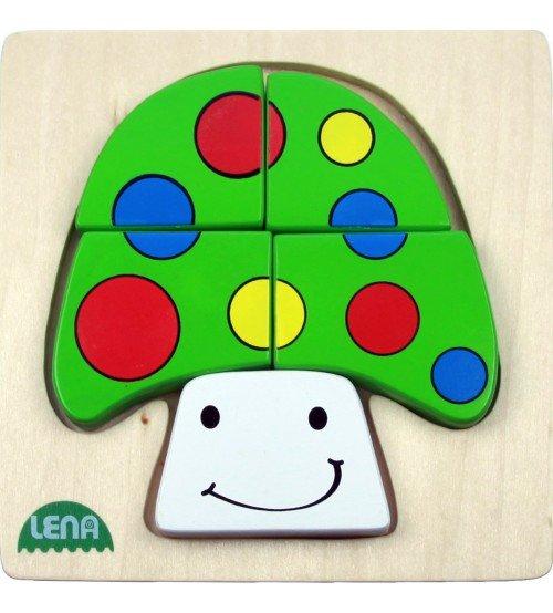 Koka puzzle Sēnes Lena L32130-8