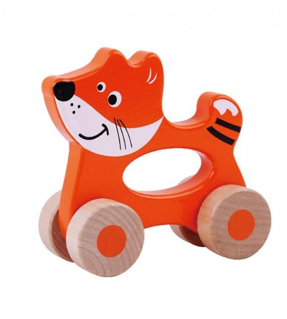 Koka rotaļlieta Lapsēns SUN BABY Fox