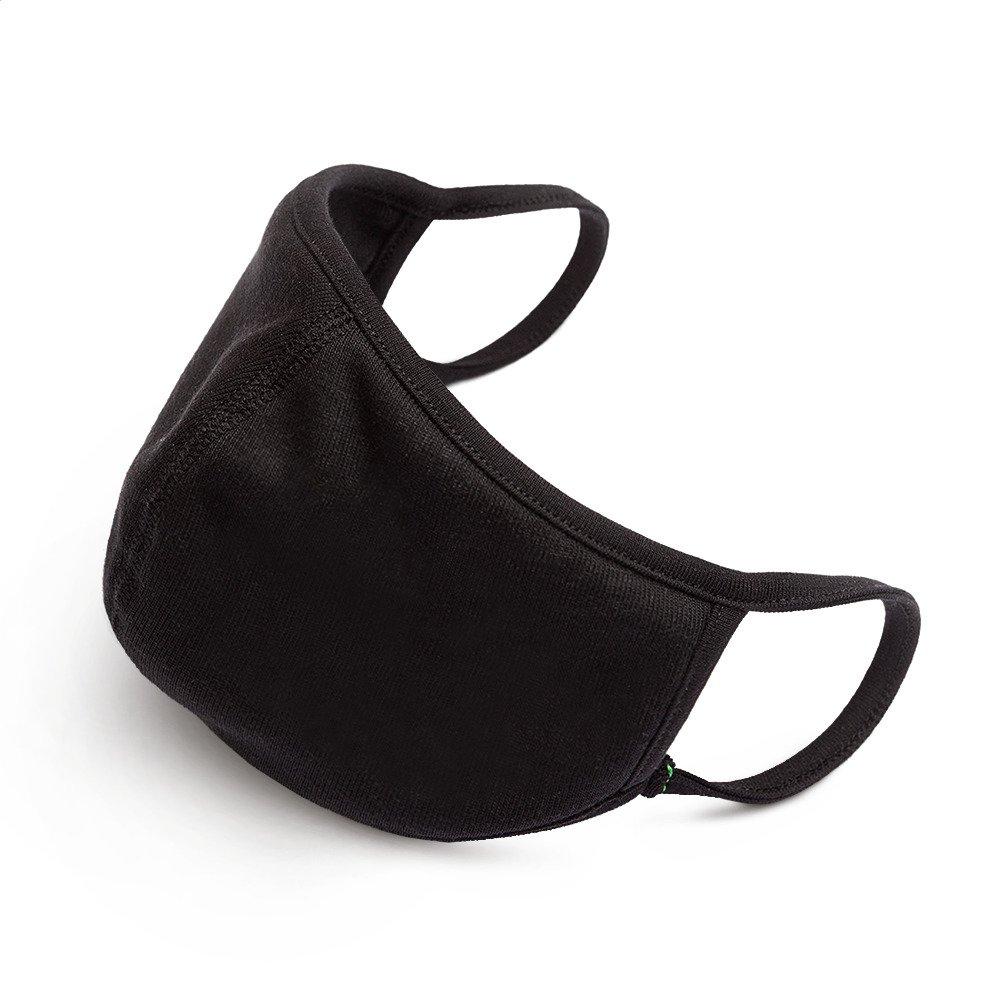 Kokvilnas sejas aizsargmaska antibakteriāla, elpojoša, mazgājama Face Mask