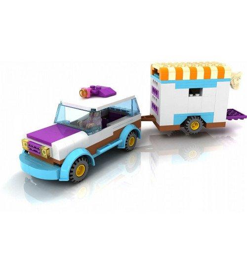 Konstruktors furgons ar zirgu 194 elementi 6+ KB0185