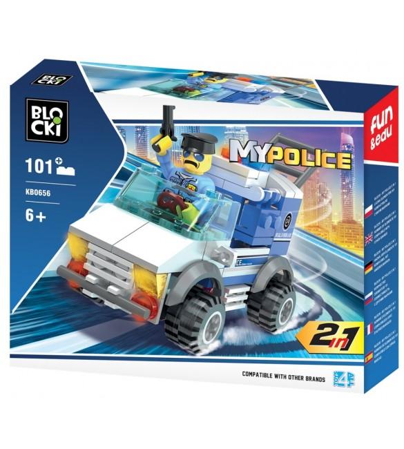 Konstruktors My Police 2in1 KB0656