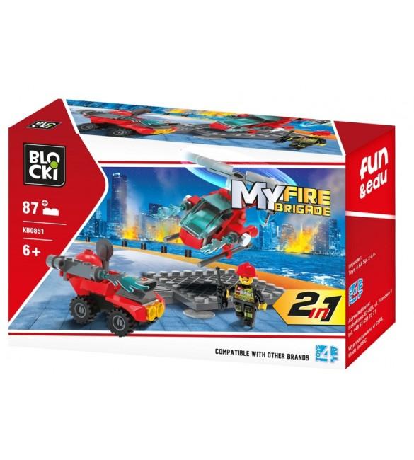 Konstruktors MyFireBrigade 2in1 KB0851