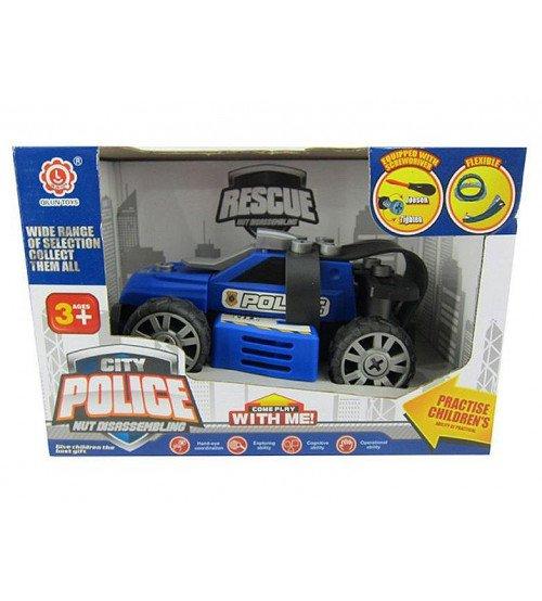 Konstruktors Policijas masīna ar instrumentiem 22 cm 508439