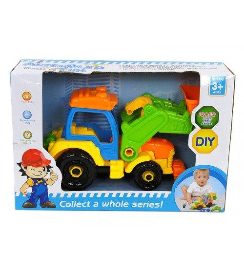 Konstruktors Traktors ar instrumentiem 34 cm 509924