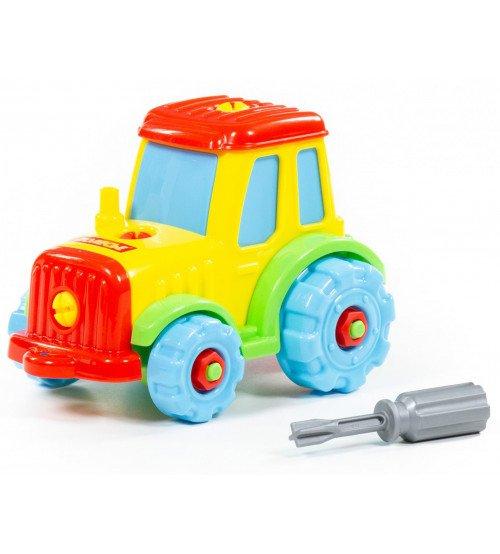 Konstruktors Traktors ar instrumentu 18 cm PL77769