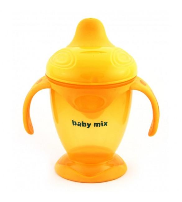 Krūze neizlīstošā 200 ml BABY MIX C1-1711