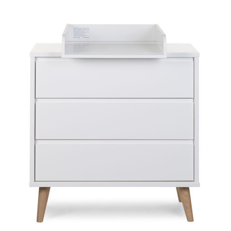 Kumode CHILDHOME Retro Rio Chest 3 Drawers + Changing Unit