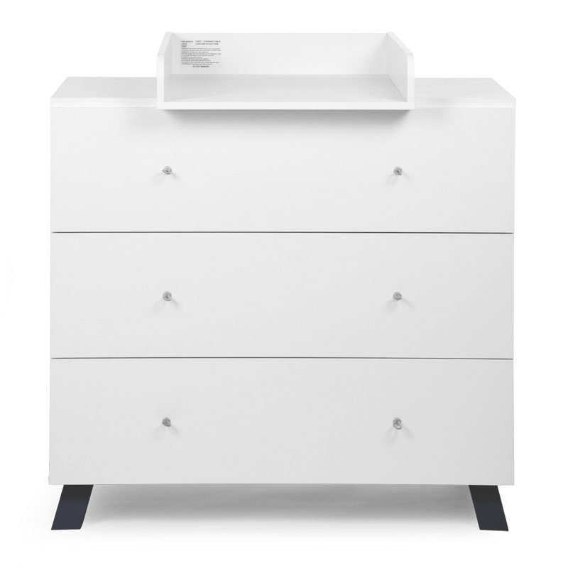Kumode CHILDHOME Union Marin Chest 3 Drawers + Changing Unit