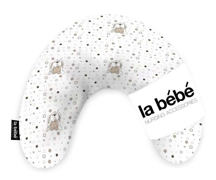 La Bebe Mimi Nursing Cotton Bears Pakaviņš 19 x 46 cm