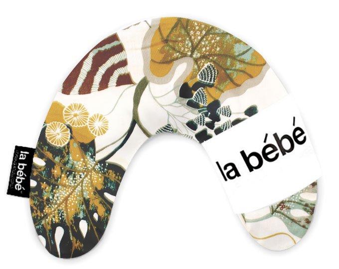 La Bebe Mimi Nursing Cotton Pillow Autumn Art Green Pakaviņš spilventiņš 19x46cm