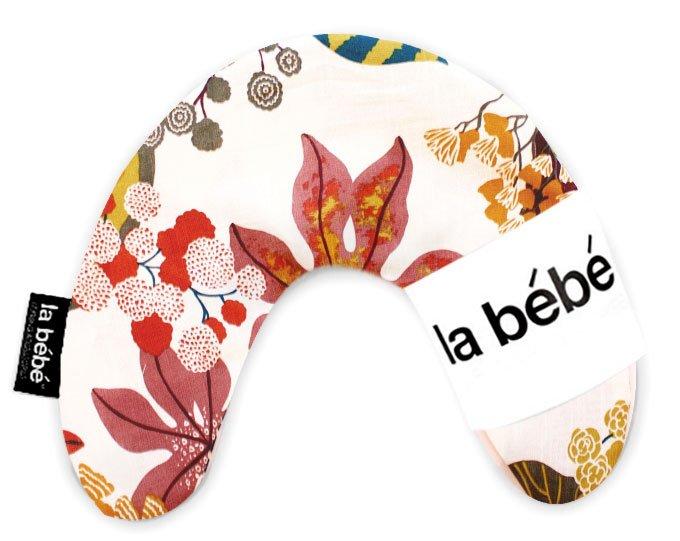 La Bebe Mimi Nursing Cotton Pillow Autumn Red Atbalsta pakaviņš spilventiņš 19x46cm ceļojumiem