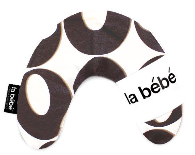 La Bebe Mimi Nursing Cotton Pillow Deco Black Silver Pakaviņš spilventiņš 19x46cm