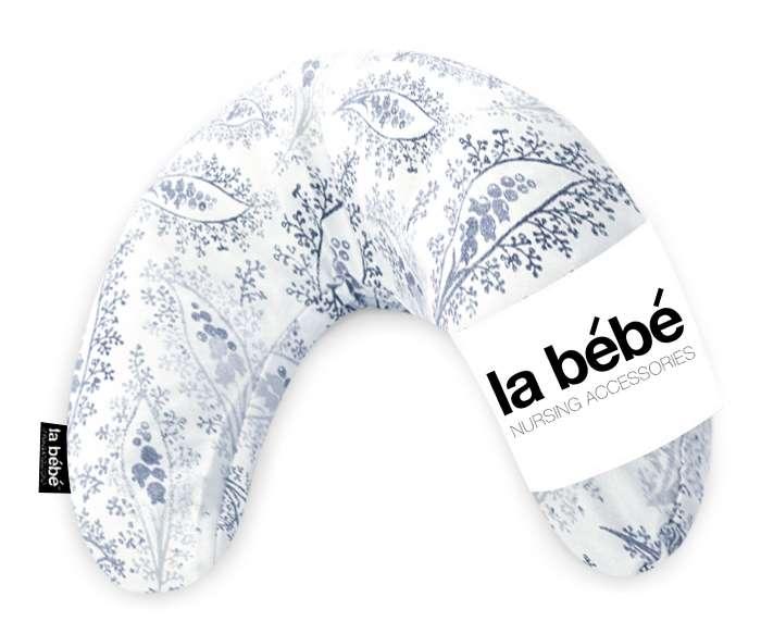 La Bebe Mimi Nursing Cotton Pillow Floral vintage white Atbalsta pakaviņš spilventiņš 19x46cm