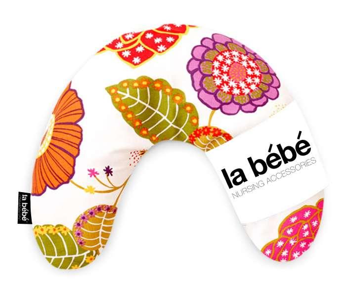 La Bebe Mimi Nursing Cotton Pillow Flowery Atbalsta pakaviņš spilventiņš 19x46 cm