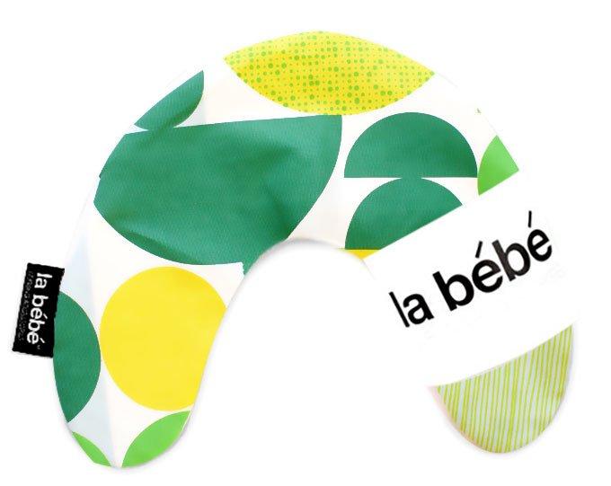 La Bebe Mimi Nursing Cotton Pillow Geometry Green Pakaviņš spilventiņš 19x46cm