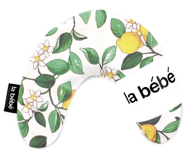 La Bebe Mimi Nursing Cotton Pillow Lemon Tree Pakaviņš spilventiņš 19x46cm