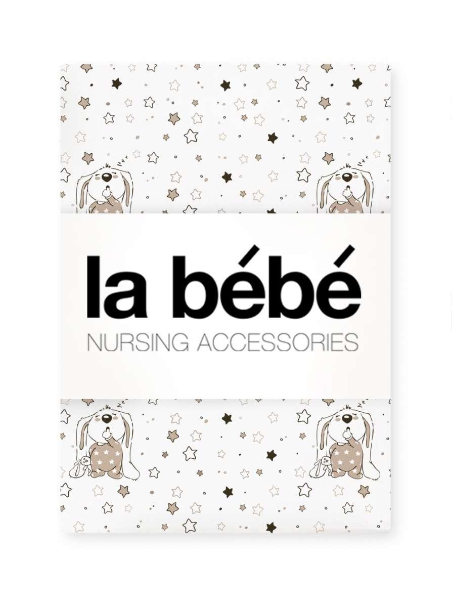 La Bebe Nursing Cotton Bunnies Bērnu dabīgas kokvilnas komplekts 2-daļīgs 100x135/40x60cm