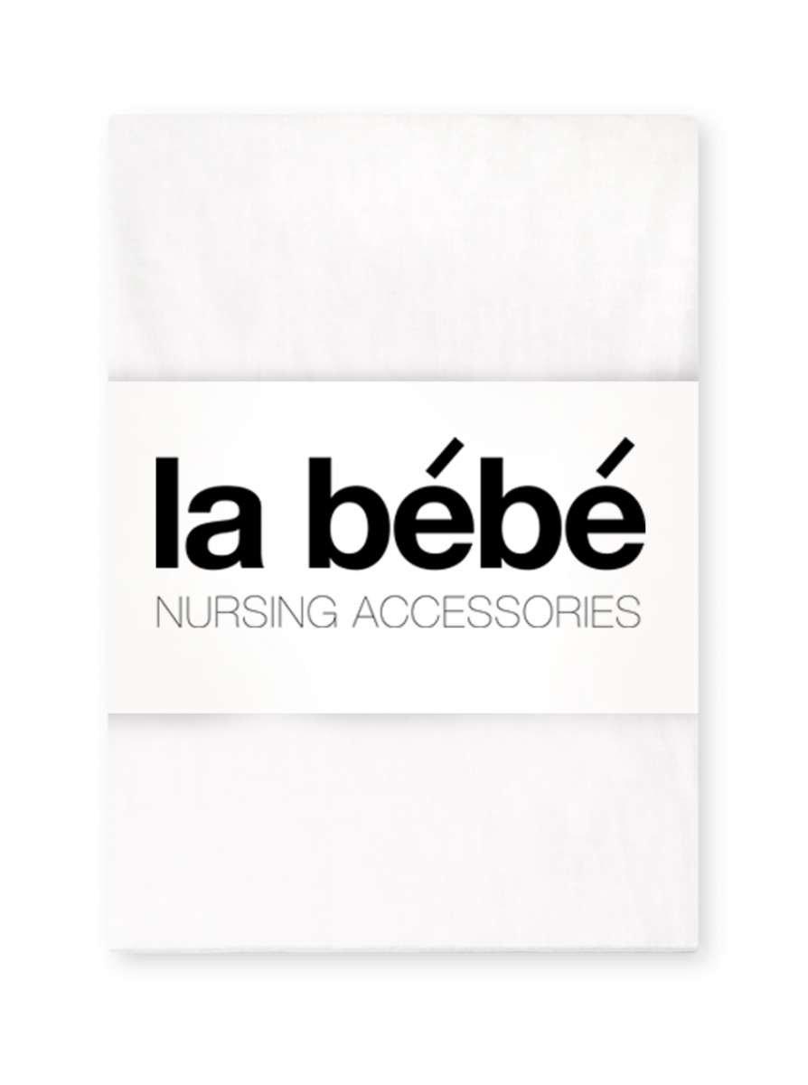 La Bebe Nursing Eco White Bērnu kokvilnas virspalags 100x140 cm