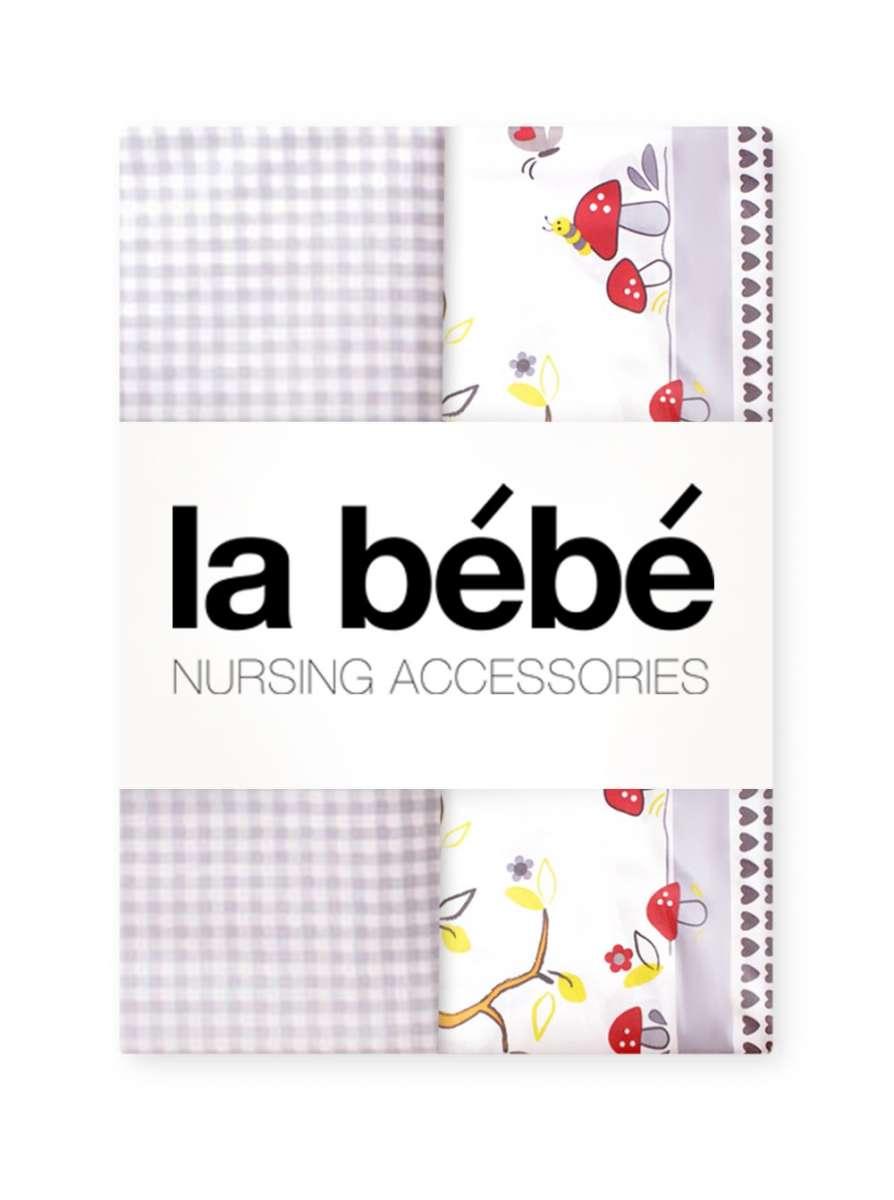 La Bebe Nursing Forest Gultas veļas komplekts 3 -dalīgs 105x150