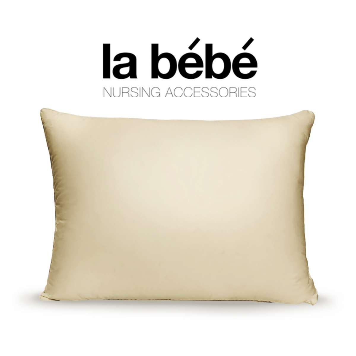 La Bebe Nursing Pillow Eco Spilvens ar griķu senālu pildījumu [40x60cm]
